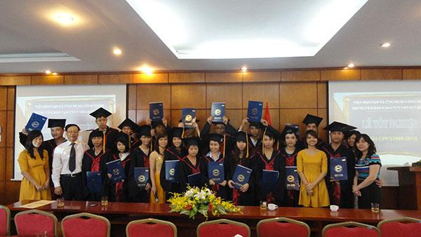 Lễ tốt nghiệp khoá CP07 tại NIIT-ICT Hà Nội