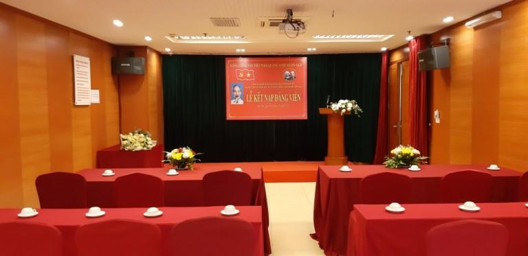 Lễ kết nạp Đảng viên mới của Chi bộ Công ty TNHH Đầu tư và phát triển Công nghệ Việt Nam